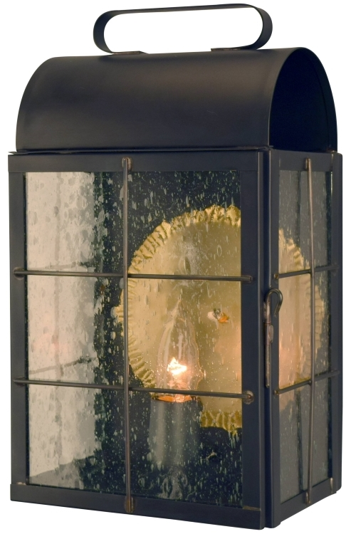 New Haven Colonial Wall Sconce Lantern