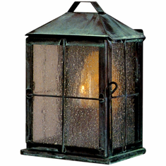 New Hope Colonial Wall Sconce Copper Lantern