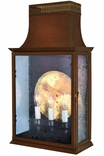 Patrice Wall Sconce Brass Lantern [CLOSE OUT]