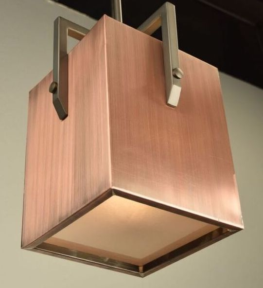 Randolph Copper & Iron Pendant Light