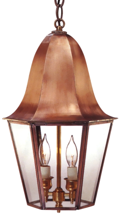 Waylon Electirc Copper Lantern Hanging Pendant Light
