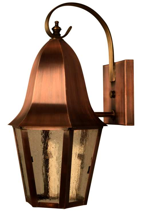 Waylon wall light with bracket outdoor copper lantern rustic country style outdoor lighting waylon wall lantern with bracket mozeypictures Image collections