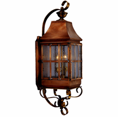 Weston Copper Lantern Outdoor Lighting Collection