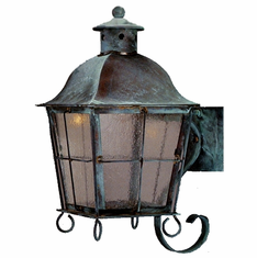 Windsor Copper Lantern Outdoor Lighting Collection