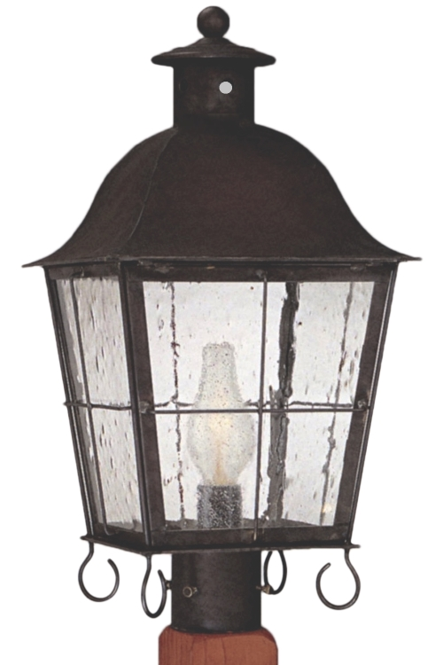 Windsor electric copper lantern post light head for sale windsor post light outdoor copper lantern aloadofball Image collections