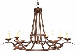 Winston Wrought Iron Chandelier [CLOSE OUT]
