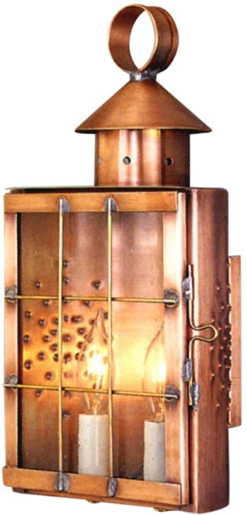 Wyndham Sconce Style Wall Mount Copper Lantern