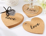 """Heart"" Cork Coasters (Set of 4)"