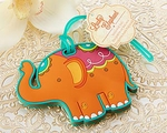 """Lucky Elephant"" Luggage Tag"