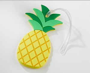 Pineapple Luggage Tag Favors