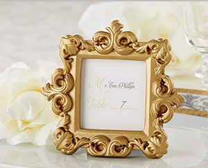 """""""Royale"""" Gold Baroque Place Card/Photo Holder """" title=""""""""Royale"""" Gold Baroque Place Card/Photo Holder"""