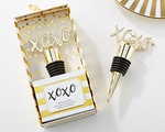 XOXO Gold Bottle Stopper
