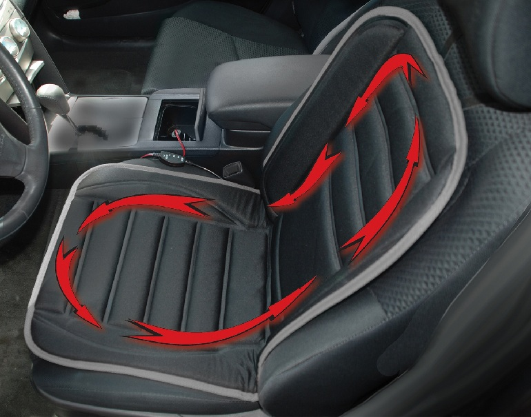 Geared UpR Heated Car Cushion