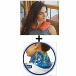 ***SPECIAL DEAL*** Nature's Approach® Neck Herbal Pack + TheraGems™ Neck & Shoulder Pack by Cool Downz®