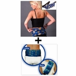 ***SPECIAL DEAL*** Nature's Approach® Lumbar Belt Herbal Pack + TheraGems™ Back & Lumbar Pack by Cool Downz®