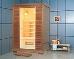 Therasage™ 2 Person Wood  F.I.R. Home Sauna