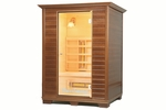 Therasage™ 3 Person Wood  F.I.R. Home Sauna
