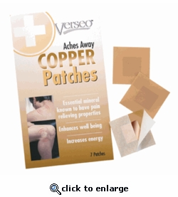 Verseo Copper Patches
