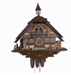 Anton Schneider  2016 Collectors Masterpiece! 5 Independent Motions  8 Day Chalet Musical Cuckoo Clock