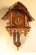 "CUCKOO CLOCKS:  10"" BAHNHAUSLE  1 DAY MOVEMENT"