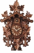 "CUCKOO CLOCKS:  17"" BAHNHAUESLE STYLE  1 DAY MOVEMENT"