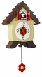 Needle Nose Ned  Novelty Dog Barking Clock!