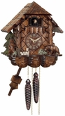 Bears Cuckoo Clock  Cottage (1) One Day Chalet