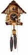 "CHALET CUCKOO CLOCK:  9"" BEERDRINKER  1 DAY MOVEMENT"