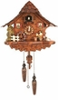 "UNIQUE  QUARTZ CHALET CUCKOO CLOCK:  12"" BEER DRINKER"