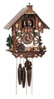 BEER DRINKER MUSICAL CHALET 1 DAY MOVEMENT CUCKOO CLOCK