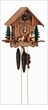 BEER DRINKER & DOG BLACK FOREST CUCKOO CLOCK