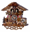 Chalet Beer Drinkers 1 Day Musical Cuckoo Clock
