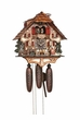 Beer Drinkers Musical 8 Day Chalet Cuckoo Clock