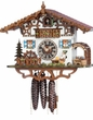 MUSICAL CUCKOO CLOCKS BEER DRINKER CHALET
