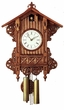 BEHA BAHNHAUSLE  BAROQUE DESIGNS CUCKOO CLOCK