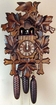 Cuckoo Clock Bird and Leaf with Dancers