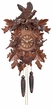 "CUCKOO CLOCKS:  16"" BIRDS w/ NEST  1 DAY MOVEMENT"