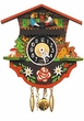 "Black Forest Chalet Clock: 4"" Boy & Girl"