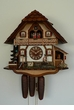 Farmer Horse Musical Chalet  8 Day Cuckoo Clock