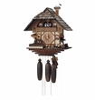 Eight Day (8) Musical  Cuckoo Clock Blacksmith  Swinging Hammer & Moving Waterwheel