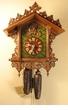 Carved Bahnh�usle Cuckoo Clock   Eight (8) Day Movement