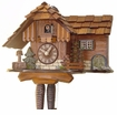 "CHALET CUCKOO CLOCKS:  9"" JUMPING SQUIRREL  1 DAY MOVEMENT"