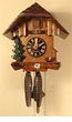 "CHALET CUCKOO CLOCKS:  8"" CLASSIC CHALET 1 DAY MOVEMENT"