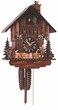 "CHALET CUCKOO CLOCK:  11"" CLOCK PEDDLER  1 DAY MOVEMENT"