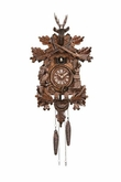 Deer Hunter Quartz Cuckoo Clock