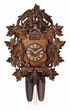 Wood Cuckoo Clock Exquisitely hand carved  1 Day Cuckoo