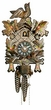 "CUCKOO CLOCK 12"" FEEDING BIRDS w/ FLOWERS  1 DAY MOVEMENT"