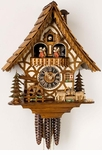 Musical Fighting Goats One Day Cuckoo Clock