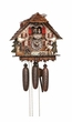 Fisherman Musical Chalet Cuckoo Clock 8 Day Movement