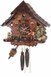 Fisherman Raises  Fishing Pole  One Day Chalet  Cuckoo Clock Cottage